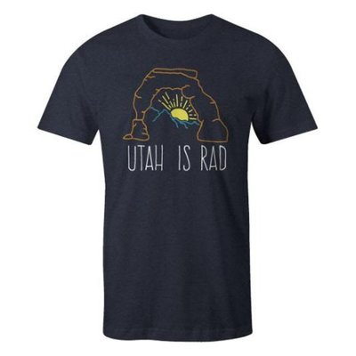 UTAH IS RAD Utah Is Rad - Delicate Sunrise Tee