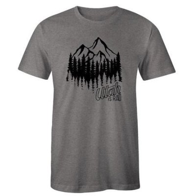 UTAH IS RAD Utah Is Rad - Mountain Forest Tee