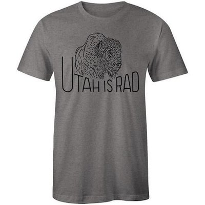 UTAH IS RAD Utah Is Rad - Classic Buffalo Tee