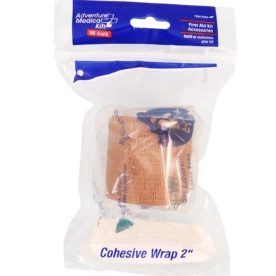 "ADVENTURE MEDICAL Adventure Medical Kits - Cohesive Wrap 2"" Refill"