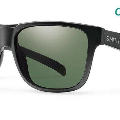 SMITH Smith - Lowdown XL, Matte Black, ChromaPop Polarized Gray Green Lens