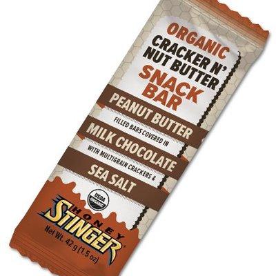 HONEY STINGER Honey Stinger - Organic Cracker N' Nut Butter Snack Bar