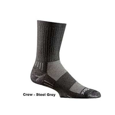 WRIGHTSOCK Wrightsock - DL Silver Escape Crew