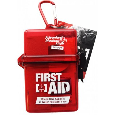 AMERICAN MEDICAL KITS Adventure Medical Kits - Adventure First Aid, In Water-Resistant Case