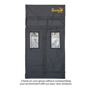 Indoor Gardening Gorilla Grow Tent - Shorty 3' x 3'