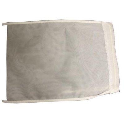 "LD Carlson Straining Bag with Drawstring - Fine Mesh - 8.5"" x 9.5"""