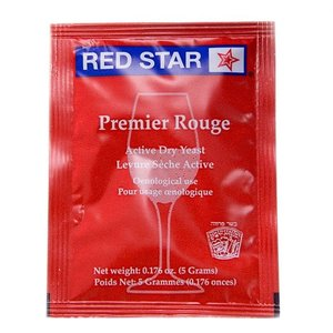 Beer and Wine Red Star Premier Rouge - 5 g