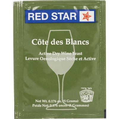 Beer and Wine Cote des Blancs-Active dry wine yeast