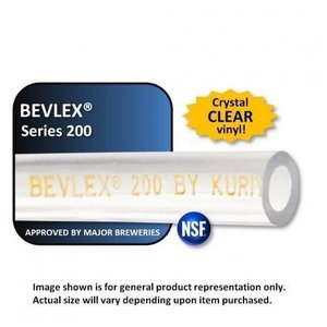 Foxx Equipment Bevlex PVC Beverage Tubing - 5/16 ID x 9/16 OD