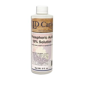Beer and Wine Phosphoric Acid (10% solution) - 8 oz