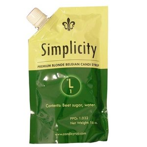 Beer and Wine Simplicity Blonde Belgian Candi Syrup - 1 lb
