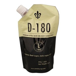 Beer and Wine D180 Dark Belgian Candi Syrup - 1 lb