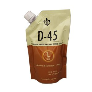 Beer and Wine D45 Amber Belgian Candi Syrup - 1 lb