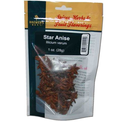Beer and Wine Star Anise (Illicium verum) - 1 oz