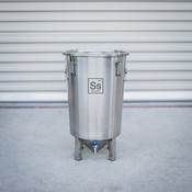 Beer and Wine Ss BrewTech Brew Bucket Stainless Steel Fermentor - 7 gallon