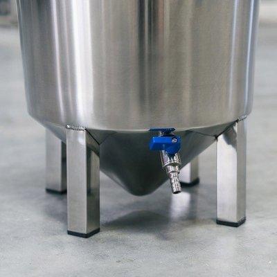 Brewmaster Ss BrewTech Brew Bucket Stainless Steel Fermentor - 7 gallon