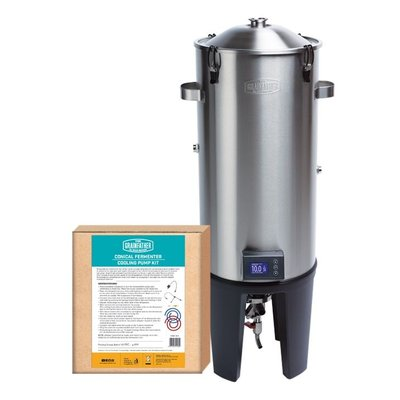 Beer and Wine Grainfather Conical Fermentor - Basic Cooling Edition