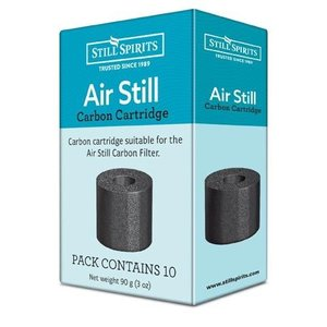 Beer and Wine Still Spirits Air Still Carbon Catridges - 10 pack