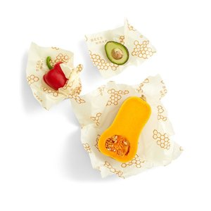Urban DIY Bee's Wrap Reusable Food Wraps - 3 pack Assortment
