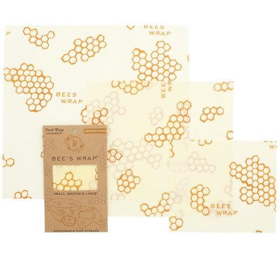 Bees Wrap Bees Wrap Assorted Wraps - Honeycomb