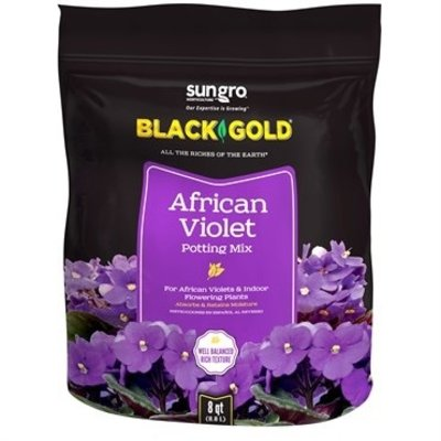 Outdoor Gardening Black Gold African Violet Mix - 8 qt