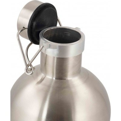 Brewmaster Stainless Steel Double Walled Growler - 2 Liter