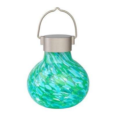 Soji Solar Glass Tea Lantern - Mint
