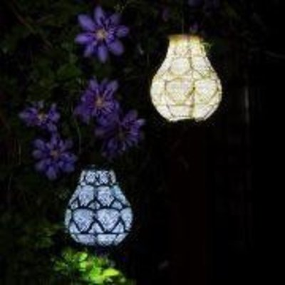 Home and Garden Soji Stella Bulb Lantern-Ink