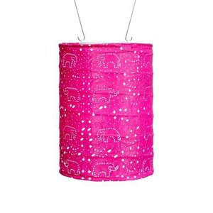 Home and Garden Soji Stella Dream Lantern-Raspberry