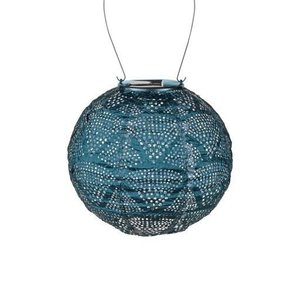 Home and Garden Soji Stella Globe Solar Lantern - Ink