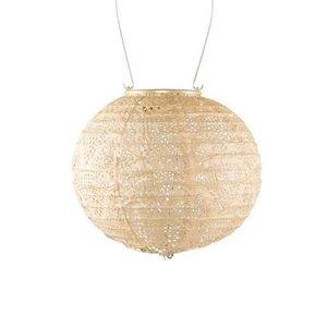 Soji Soji Stella Globe Solar Lantern - Pearl