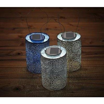 Home and Garden Soji Stella Solar Lantern - Blue
