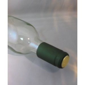 Beer and Wine Green Shrink Capsules - 30 count