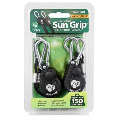 Lighting Sun Grip Push Button Light Hangers - 1/8 inch