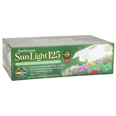 Lighting SunLight 125w Fluorescent Fixture w/Bulb - 120 volt