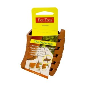 Pottery Pot Toes Plant Risers - 6 pack