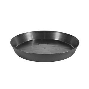 Indoor Gardening Black Heavy Duty Saucer - 25 inch