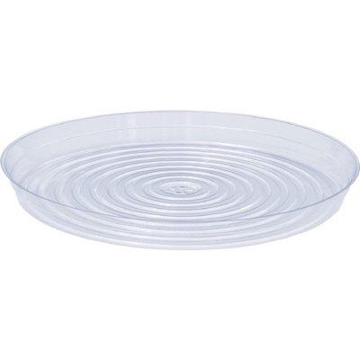 Indoor Gardening Clear Plastic Saucer - 17 inch