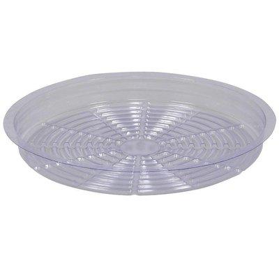 Indoor Gardening Clear Plastic Saucer - 16 inch