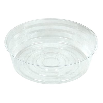 Curtis Wagner Clear Deep Plastic Saucer - 10 inch