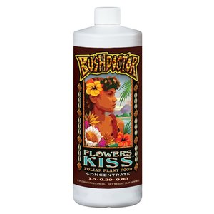 Indoor Gardening FoxFarm Bush Doctor Flowers Kiss - Quart