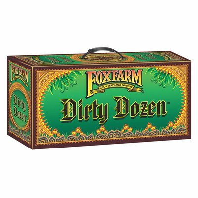 Indoor Gardening FoxFarm Dirty Dozen Starter Kit