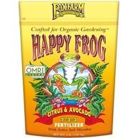 Outdoor Gardening FoxFarm Happy Frog Organic Citrus & Avocado Fertilizer - 4 lb