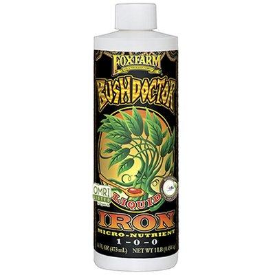 Indoor Gardening FoxFarm Bush Doctor Iron- Pint