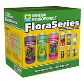 Indoor Gardening General Hydroponics Flora Series Performance Pack