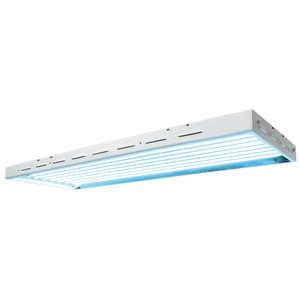 Lighting Sun Blaze 48 HO T5 Fluorescent Fixture -  8 Lamp - 4 Foot - 240 Volt
