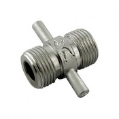 "Foxx Equipment Stainless Steel Beer Thread Coupler - 5/8"" BSP"