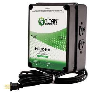 Lighting Titan Controls Helios 11 Lighting Controller - 4 Light 240v w/ Trigger Cord