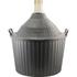 Brewmaster Glass Demijohn w/Storage Basket - 14 gal (54 L)