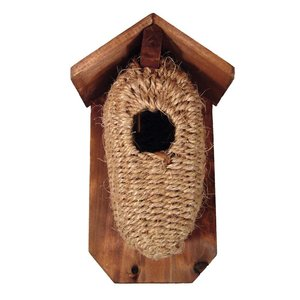 Home and Garden Jute Nesting Box